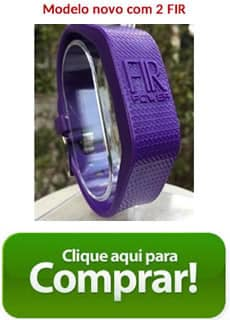 bracelete cor roxa